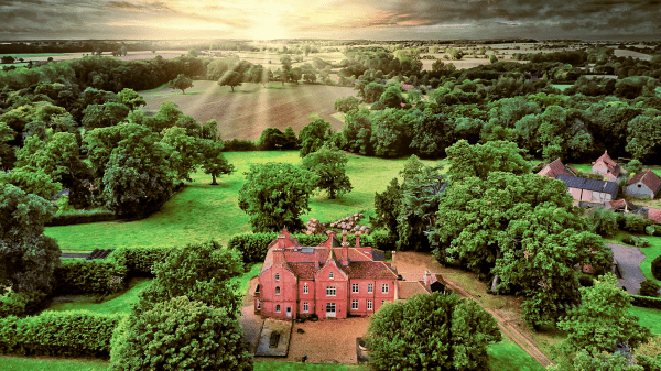 Norfolk Drone Photography Bessingham Manor Aerial Photography Norfolk Drone