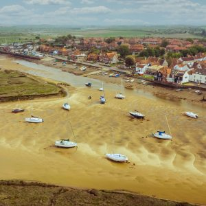 Wells-next-the-Sea | Town | Wells-next-the-Sea | Norfolk - Norfolk Drone