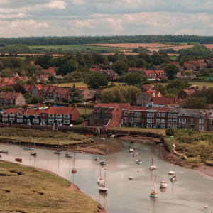 Aerial Photographer East Anglia - Burnham Overy Staithe Harbour
