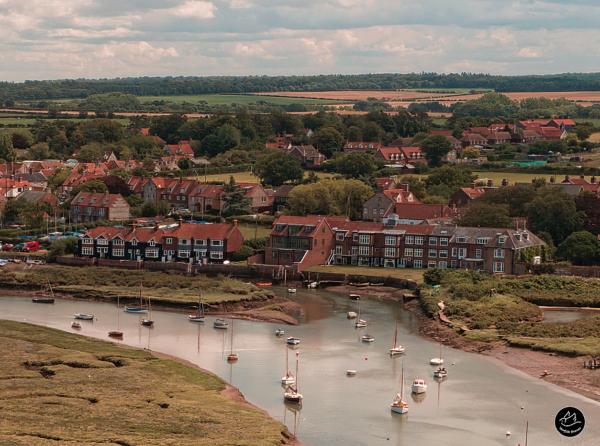 Aerial Photographer East Anglia - Burnham Overy Staithe Harbour