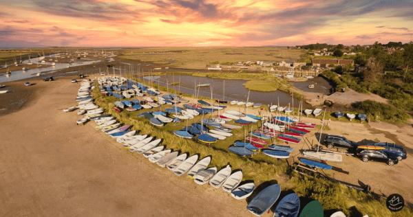 Burnham Overy Staithe Sunset Harbour