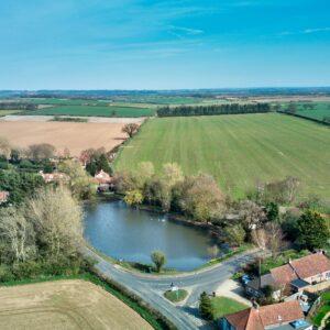 Stanhoe Norfolk Pond In Norfolk UK