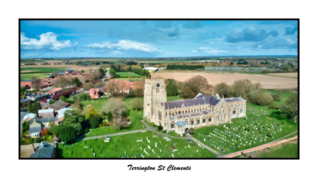 Terrington St Clements Oil1