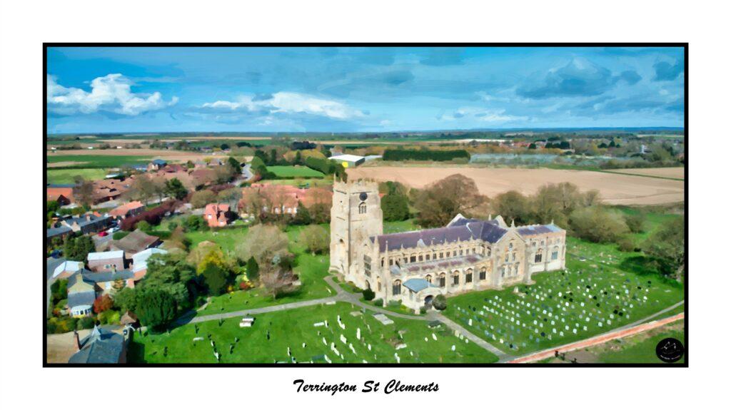 Terrington St Clements Oil2