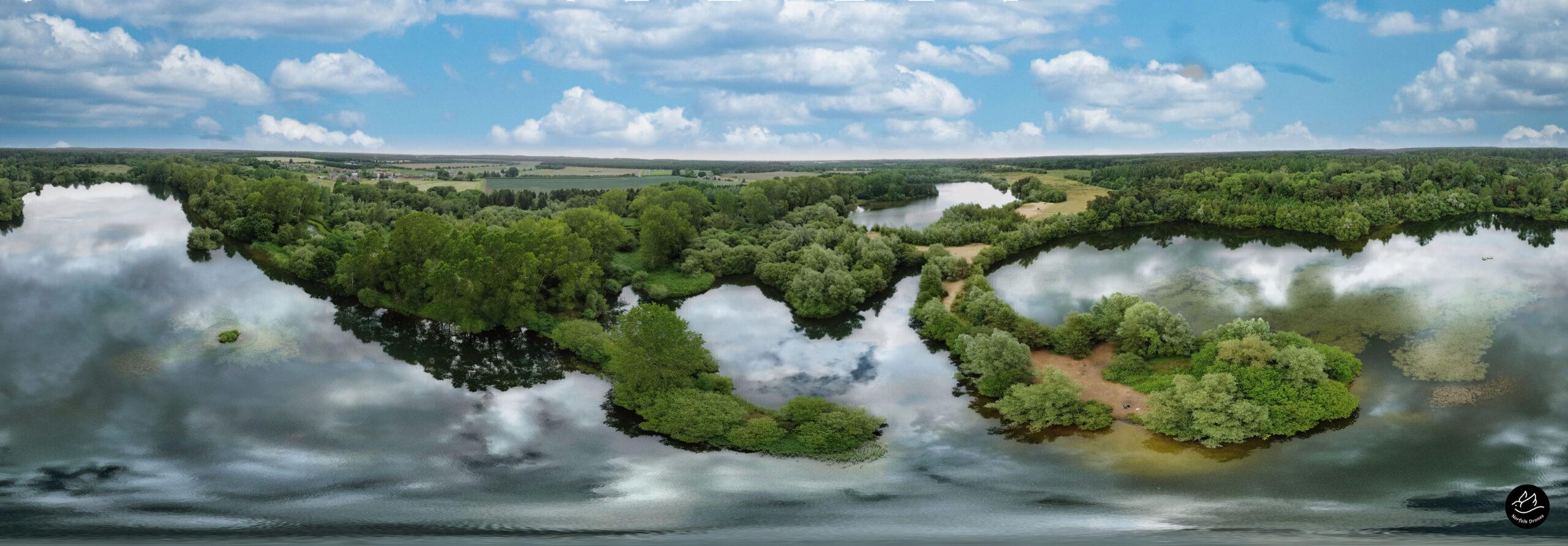 Lynford Lakes Norfolk Norfolk Drones