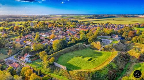 Castle Acre Priory Norfolk Drone Norfolkdrone